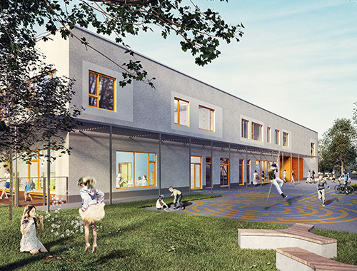 arch_it piotr zybura menthol architects osobowicka school extension