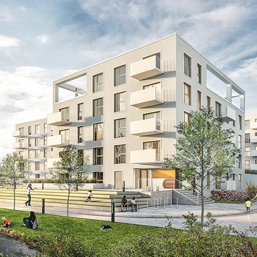 click to go to nowa zatorska estate project page