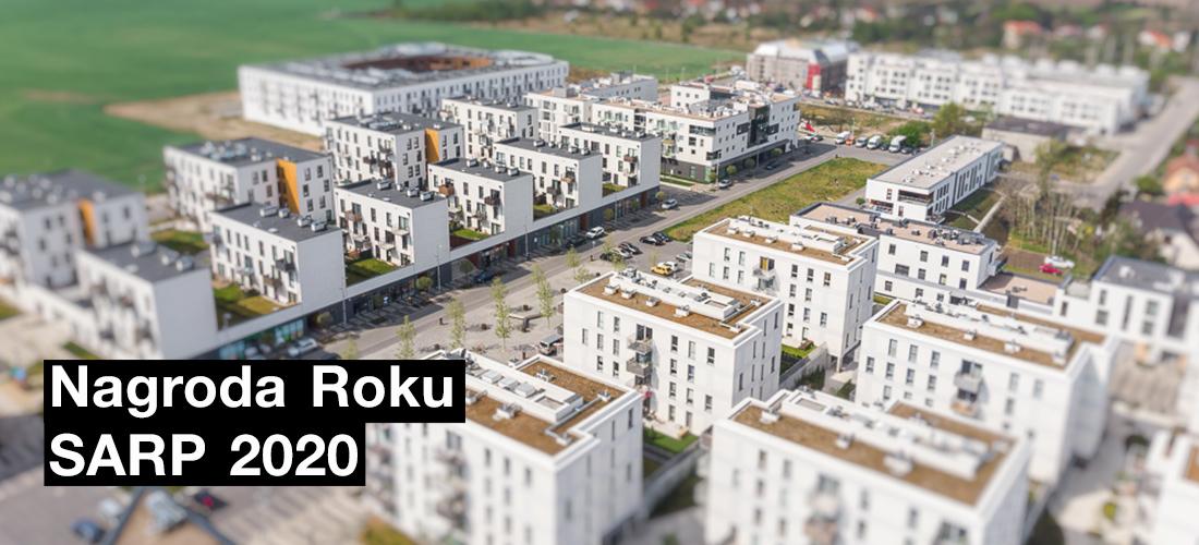 arch_it piotr zybura nagroda roku sarp 2020 dla Nowych Żernik